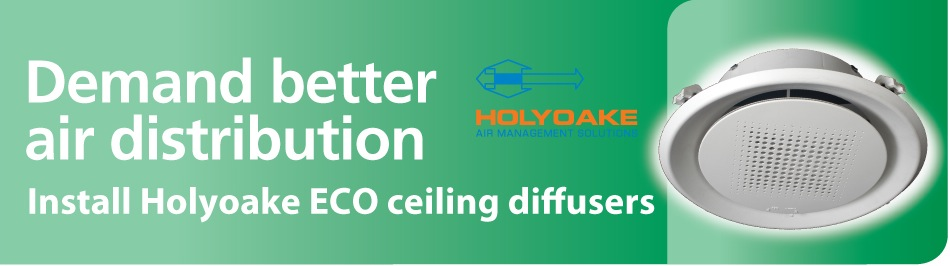 Eco Ceiling Diffuser Ductair
